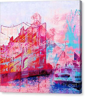 Harbour Tones Canvas Print