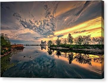 Harbour View Park Canvas Print