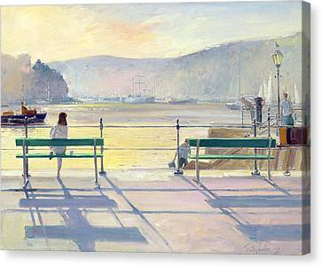 Harbour View Canvas Print by Timothy Easton