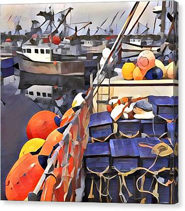 Harbour Ville Canvas Print