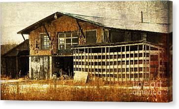Hard Labor Canvas Print by Lois Bryan