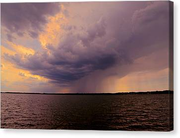 Hard Rain's Gonna Fall Canvas Print by Lowlight Images