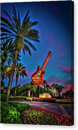 Hard Rock Canvas Print by Marvin Spates