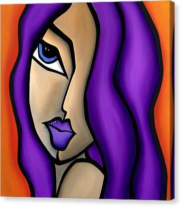 Hardly - Abstract Pop Art By Fidostudio Canvas Print by Tom Fedro - Fidostudio
