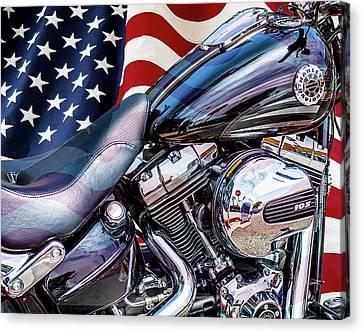 Harley-davidson 103 - B Canvas Print