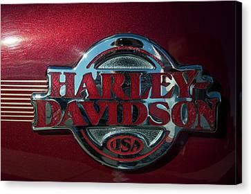 Harley Davidson 12 Canvas Print
