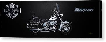 Harley Davidson Snap-on Canvas Print