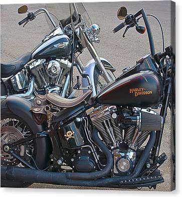 Harleys Canvas Print