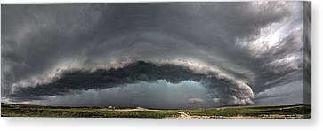 Harlowton, Montana, Supercell Canvas Print