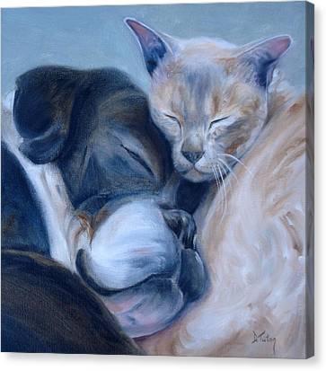 Harmony Canvas Print by Donna Tuten