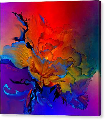 Abstract Digital Canvas Print - Harmony by Hanne Lore Koehler