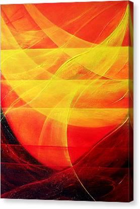 Harmony Canvas Print by Kumiko Mayer