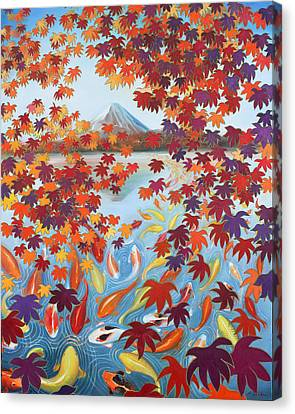 Harmony No.2 Autumn Canvas Print