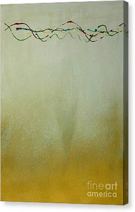 Canvas Print featuring the painting Harmony by Ron Labryzz