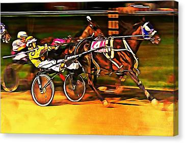 Harness Race #2 Canvas Print