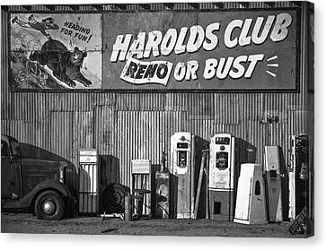 Harold's Club Canvas Print