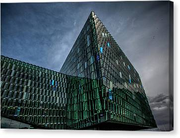 Harpa Canvas Print by Wade Courtney