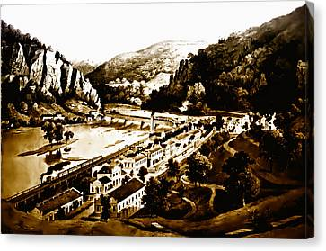 Harpers Ferry Canvas Print by Bill Cannon