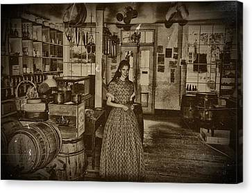 Harpers Ferry General Store Canvas Print by Bill Cannon