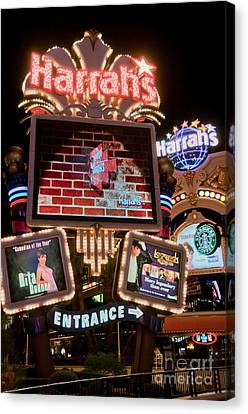 Harrahs Canvas Print
