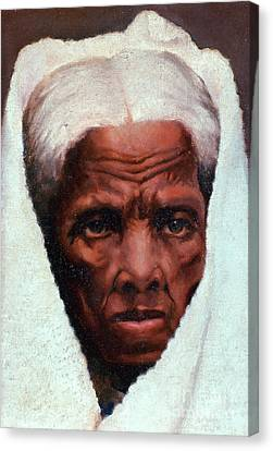Antislavery Canvas Print - Harriet Tubman, African-american by Photo Researchers