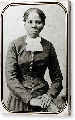 Antislavery Canvas Print - Harriet Tubman, American Abolitionist by Photo Researchers