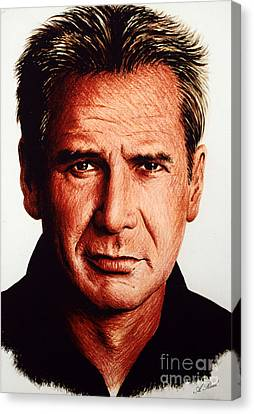 Harrison Ford Canvas Print by Andrew Read