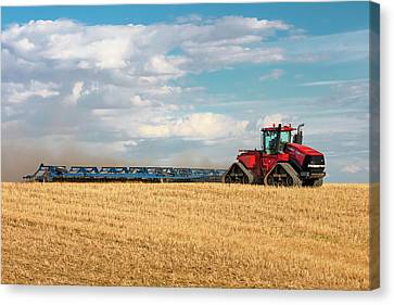 Harrow Cart Canvas Print by Todd Klassy