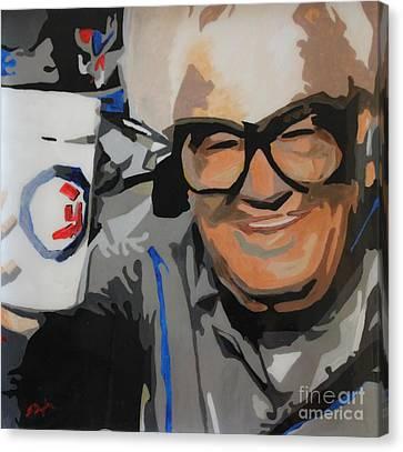 Harry Caray Canvas Print
