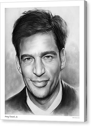 Harry Connick, Jr. Canvas Print by Greg Joens