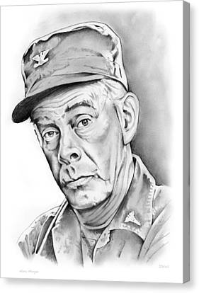 Harry Morgan Canvas Print by Greg Joens