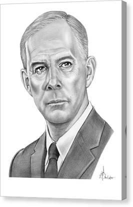Harry Morgan Canvas Print by Murphy Elliott