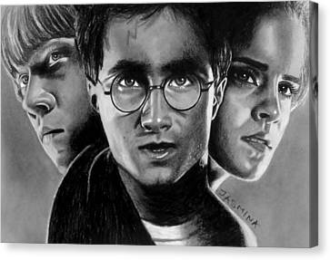Harry Potter Fanart Canvas Print by Jasmina Susak