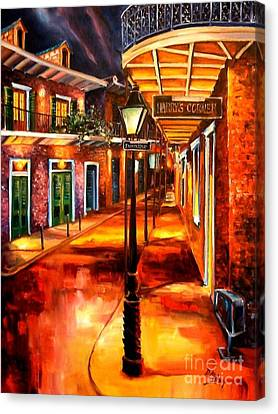 Harrys Corner New Orleans Canvas Print by Diane Millsap