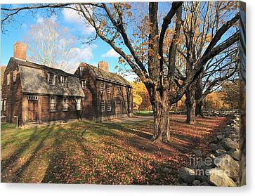 Canvas Print - Hartwell House And Tavern by Catherine Reusch Daley