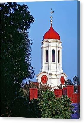 Harvard's Dunster House Canvas Print by Mountain Dreams