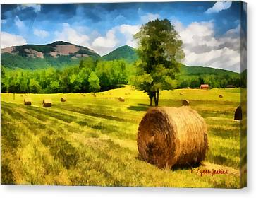 Harvest At Table Rock Canvas Print by Lynne Jenkins