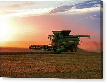 Harvest Colors Canvas Print by Todd Klassy