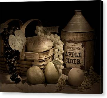 Harvest Moon Canvas Print by Tom Mc Nemar
