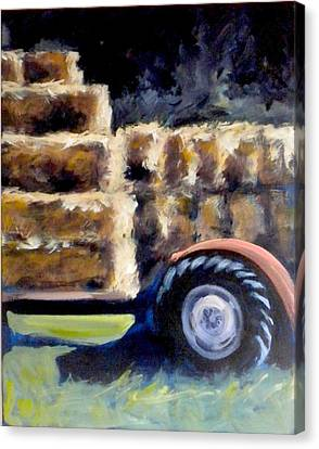 Harvest Canvas Print by Paula Strother