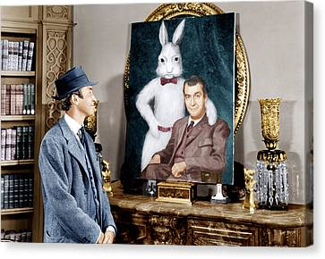 1950s Portraits Canvas Print - Harvey, James Stewart, 1950 by Everett