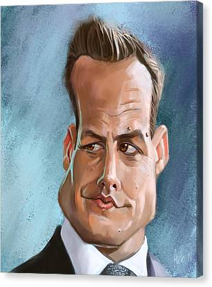 Harvey Specter Canvas Print