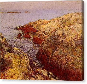 Hassan Childe Isles Of Shoals Canvas Print by Childe Hassam