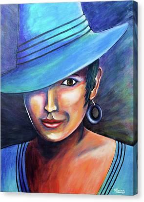 Hat Affair Canvas Print