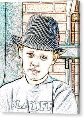 Hat Of A Hero Canvas Print by Lynn Reid