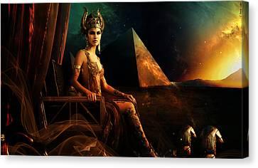 Hathor Canvas Print by Pharaoh Laboa