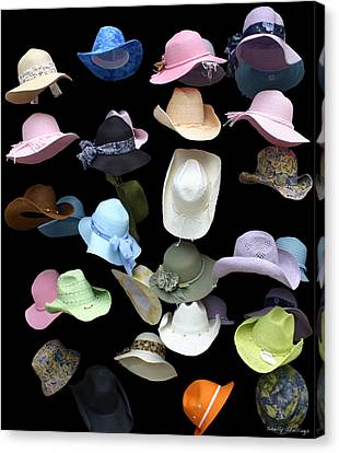 Hats Off Canvas Print by Shelly Stallings