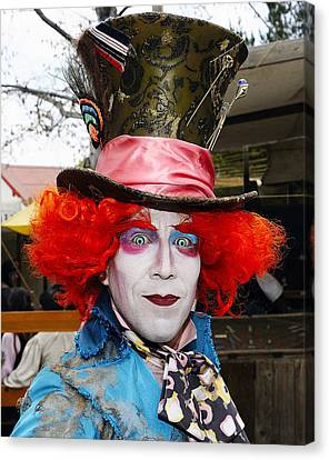 Hatter Canvas Print by Clarence Alford