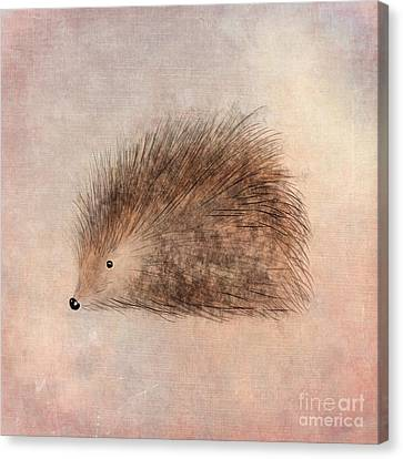 Hattie Hedgehog  Canvas Print