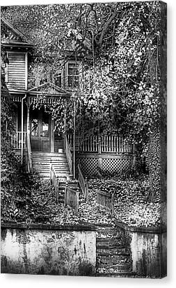 Haunted House Canvas Print - Haunted - Abandoned by Mike Savad